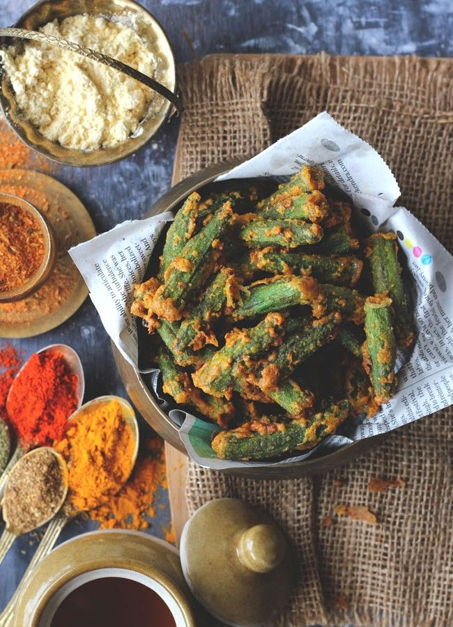 1103 best awesome food recipes images on pinterest awesome food besan bhindi fry recipe crunnnnchy awesomeness forumfinder Gallery