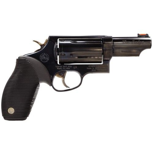 "Taurus 2441031T Judge 45/410 Single/Double 45 Colt (LC)/410 3"" 5 Black Ribber Blued"