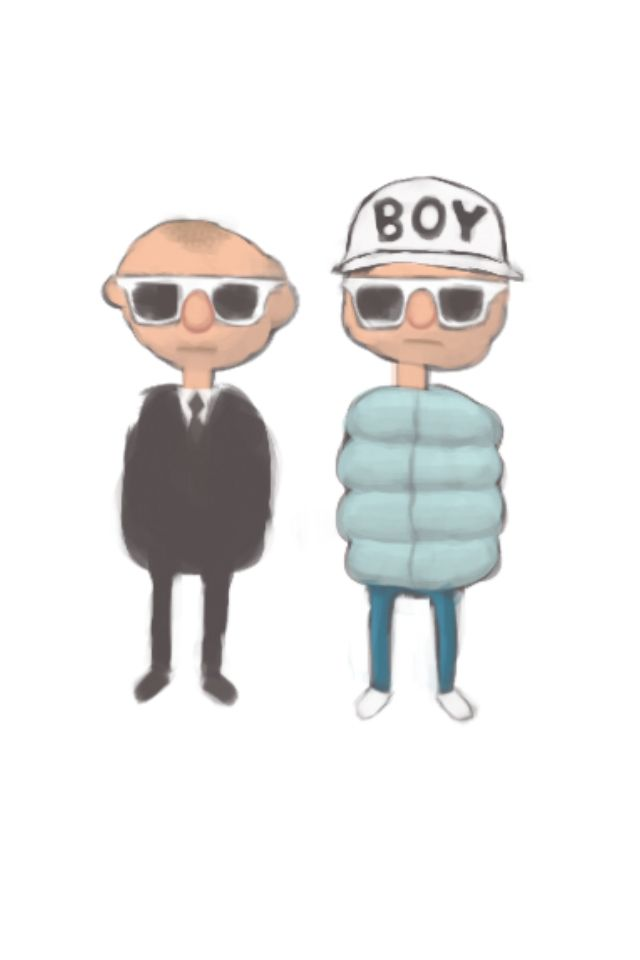 Psb Art By Flipflopflying Pet Shop Boys Mickey Mouse Mario Characters