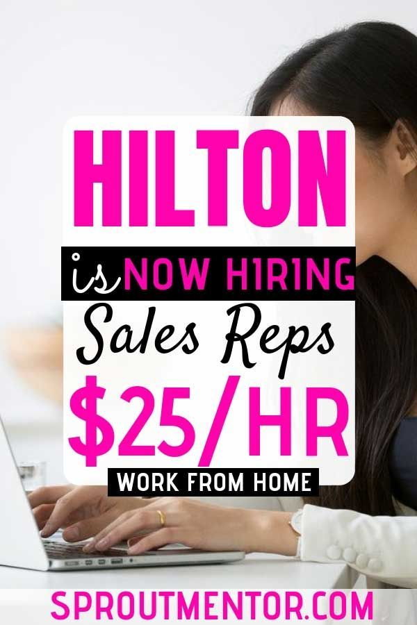 Legitimate Work From Home Jobs Hiring Now (Hilton & Others