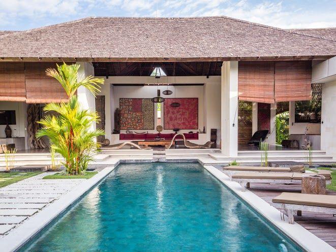 Villa Arte | 3 bedrooms | Kerobokan, Bali #swimmingpool #villa #exterior #bali #holiday