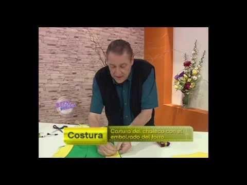 Hermenegildo Zampar - Bienvenidas TV - Explica como hacer una Costura de Chaleco. - YouTube