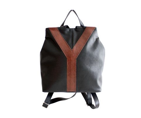 Y Backpack www.indiansummerleather.com #purses #handbags #canada #fashion