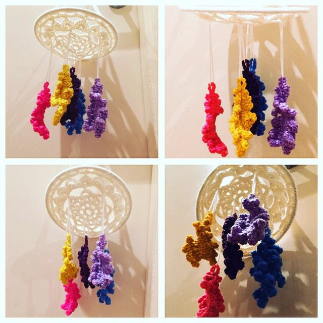 Feather Dreamcatcher Baby Mobile available at www.ks-handmade.com