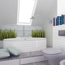 Znalezione obrazy dla zapytania skandynawska łazienka