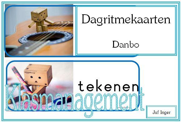 Dagritmekaarten Danbo - Juf Inger