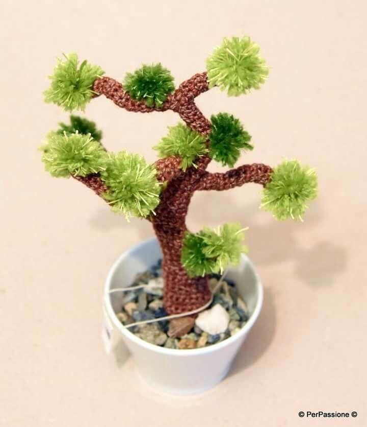 #bonsai #crochet