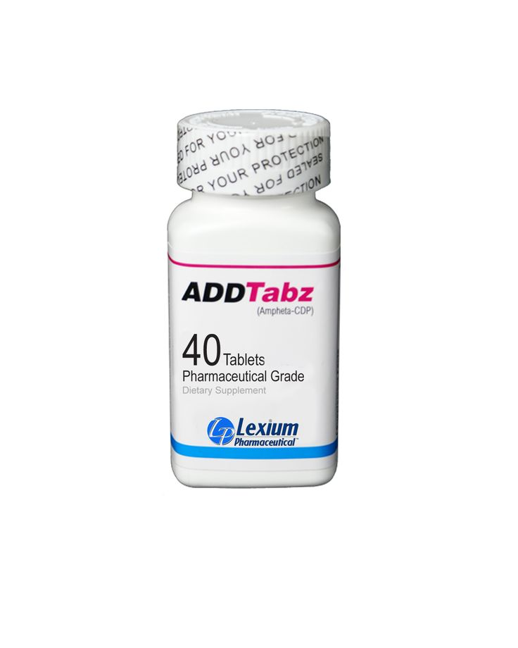 ADDTabz 1 Bottle - 40 Tablets - Mental Focus and Performance Tablets | Gentech Pharmaceutical ...