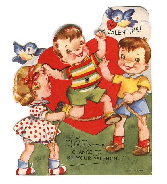 vintage valentines day images