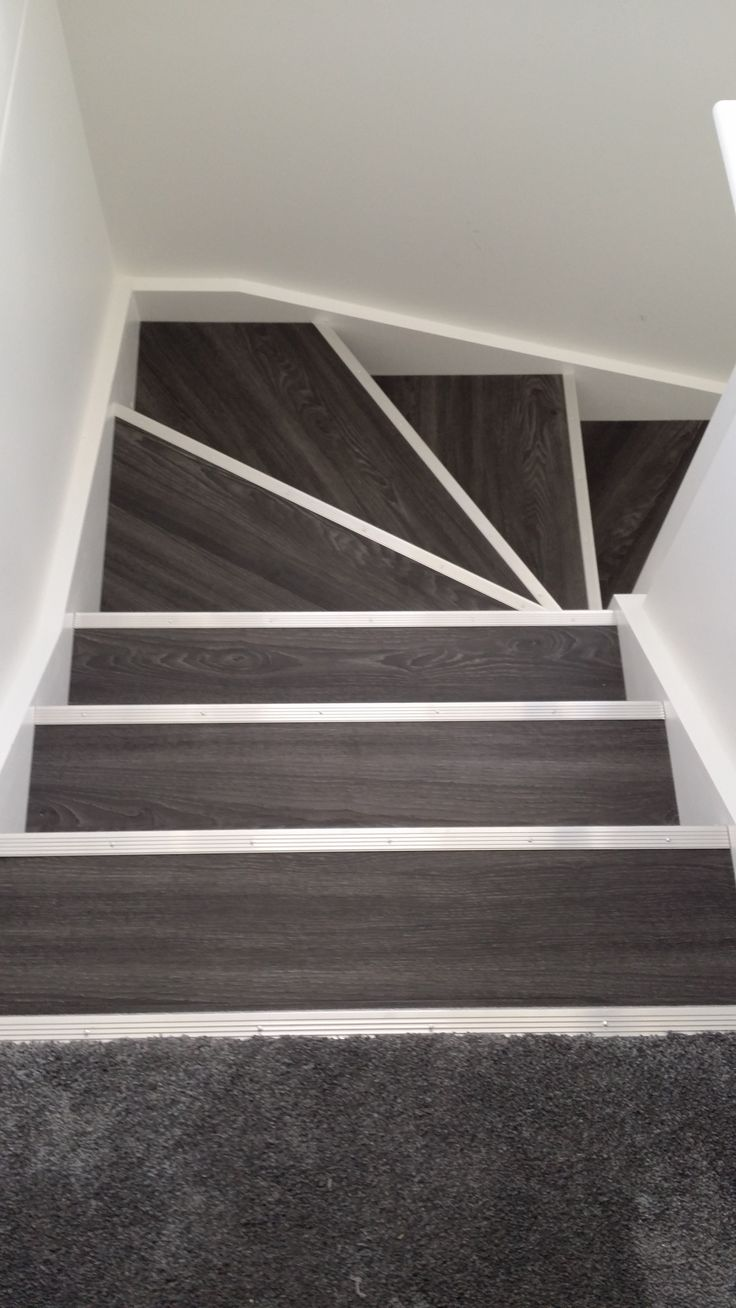 Uncategorized Stair Carpet Nosing best 25 stair nosing ideas on pinterest wood and carpet stairs allure locking gen 3 aspen oak black with silver fluted nosing
