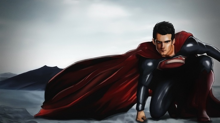 #Superman Man of #Steel illustration - inLite Illustrations & Design