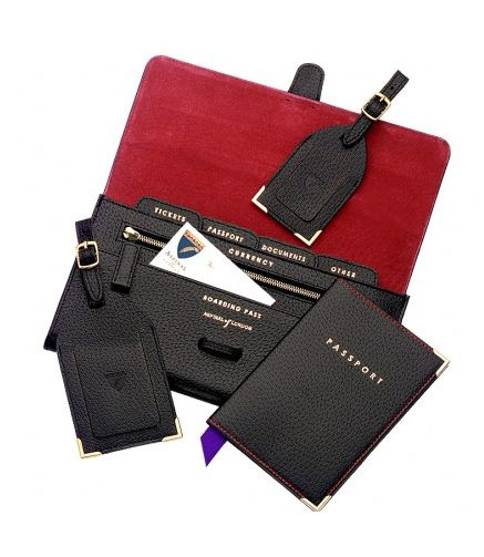 Travel wallet: slightly cheaper, from aspinal