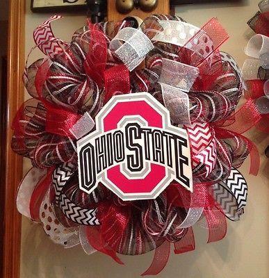 Ohio-State-Buckeyes-Deco-Mesh-Wreath