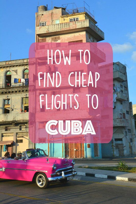 Want to take a vacation to the beautiful country of Cuba? We have written out step by step how to book cheap flights to Cuba (yes, even Americans!).   You can find all the best Cuba travel tips on Don't Forget To Move.