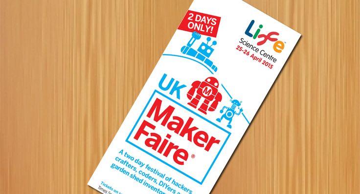 Maker Faire UK 2015 Leaflet