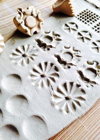 Mönster i lera av Linda på Form och känsla