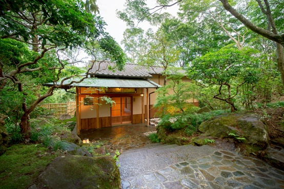 Detached villa in historical garden