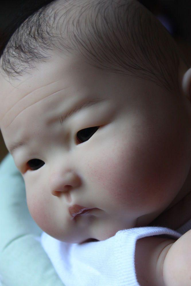Beautiful Asian Reborn Baby Girl AnMing by Ping Lau *LA Doll Studio*