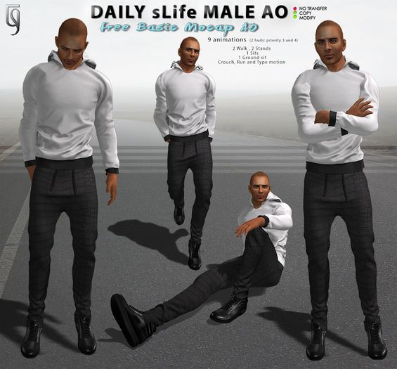 TuTy's - DAILY sLIFE FREE Male AO . Priority 3 and 4