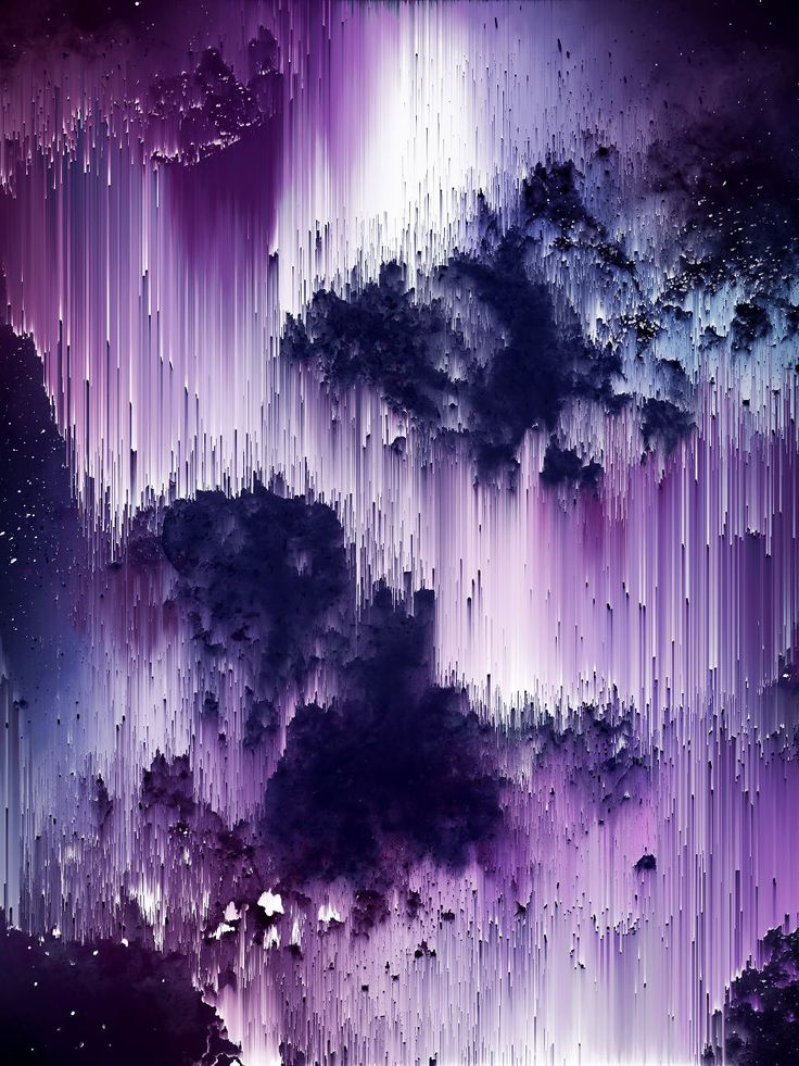 I Create Colorful Abstract Images That Look Like Celestial Dreams Almost looks like Purple Rain falling down..