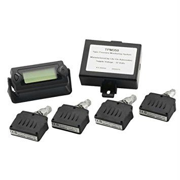 Valet 9104 4-Sensor Tire Pressure Monitoring System with Display Review 2017