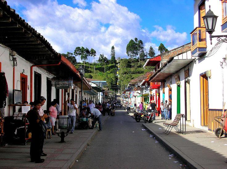 Salento, a precious hidden treasure in the department of Quindio, Colombia.