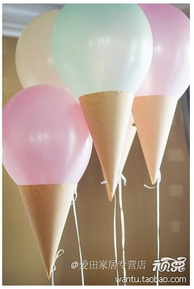 ice cream balloons                                                                                                                                                      Más