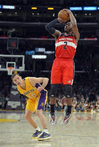 FULL GAME: Lakers vs. Wizards - Kobe Bryant (21 Pts, 11 Ast) vs. John Wall (24 Pts, 16 Ast)