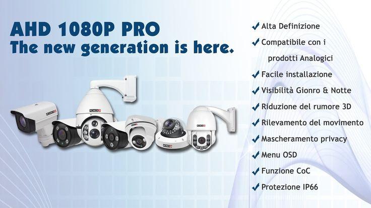 Breve panoramica dei prodotti #ProvisionISR di ultima generazione #IP e #AHD. #sicurezza #TVcc #videosorveglianza