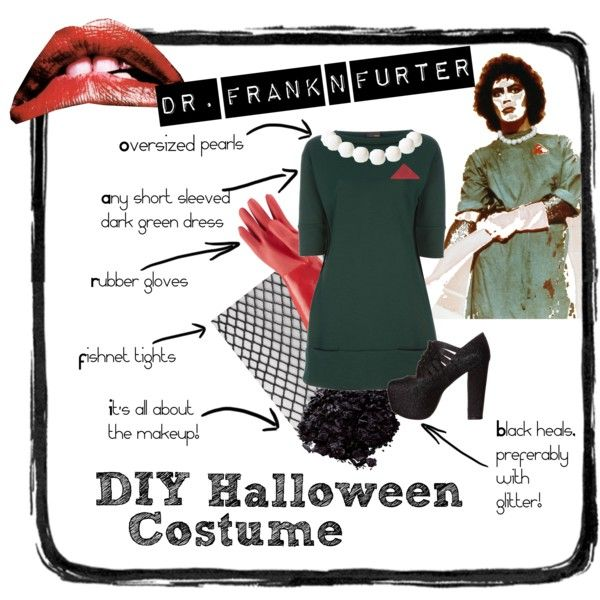 DIY Rocky Horror Costume!