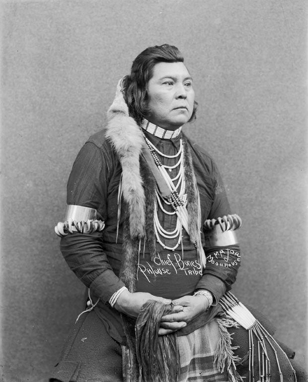 Chief Bones, Palouse tribe