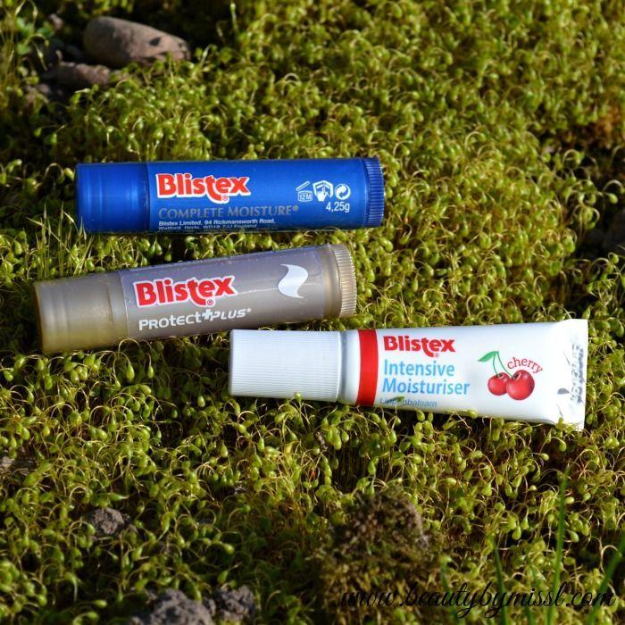 Blistex lip balms Complete Moisture, ProtectPlus & Intensive Moisturiser