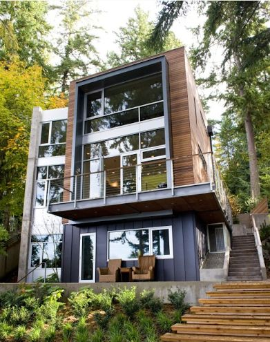 Shipping Container Home: Modern