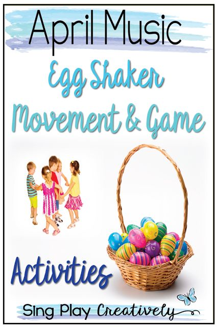 Easter and Spring are just around the corner and Egg shakers make the perfect class activity. Free ideas for your music and elementary classroom that are easy to use and inspire creativity!