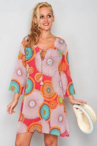 Tunika Horizon - Tunika med lekfulla och glada färger. Feeling the summer yet?