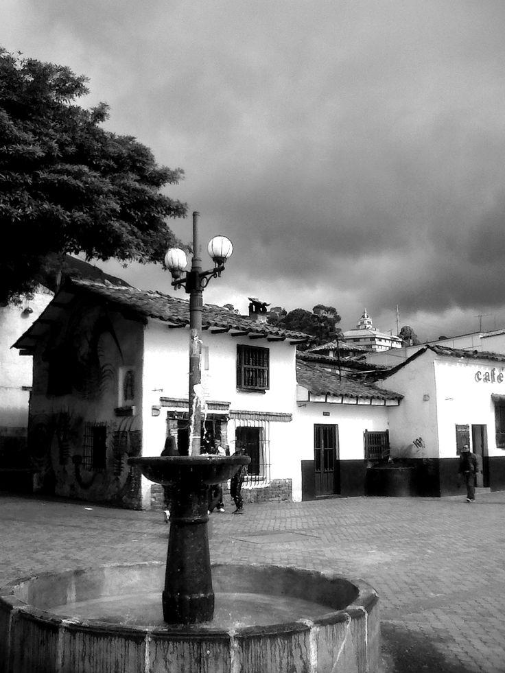 el chorrito de quevedo en #Bogota antigua