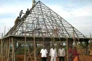 Ananda Nilayam Pyramid Meditation Center http://www.pyramidseverywhere.org/pyramids-directory/telangana/medak-district  #Pyramid #Pyramids