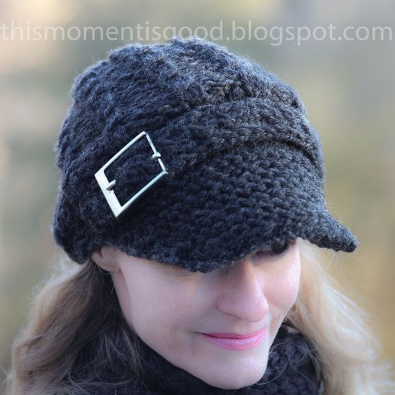 How To Loom Knit A Newsboy Hat Noise