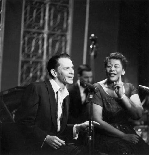 Ella Fitzgerald and Frank Sinatra