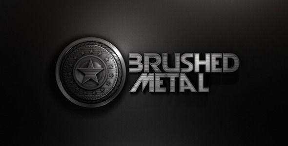 Brushed Metal Opening