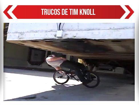 Los mejores trucos de BMX de Tim Knoll