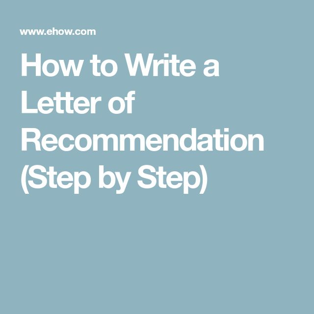 Best  Writing Letter Of Recommendation Ideas On