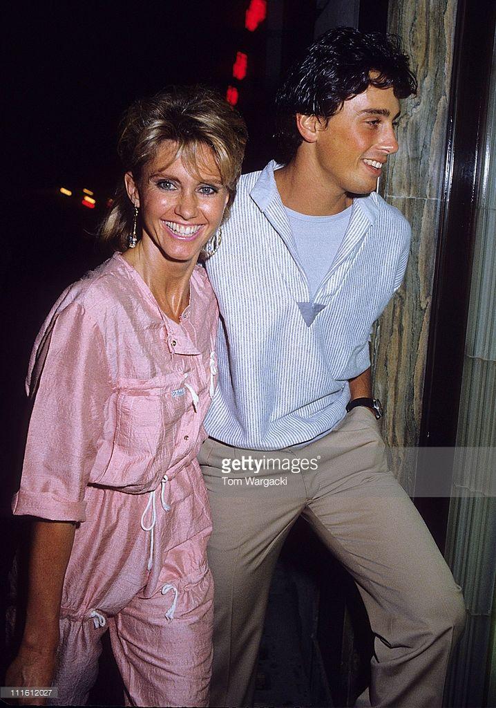 Olivia Newton John and husband Matt Lattanzi arrive at Langan's ...