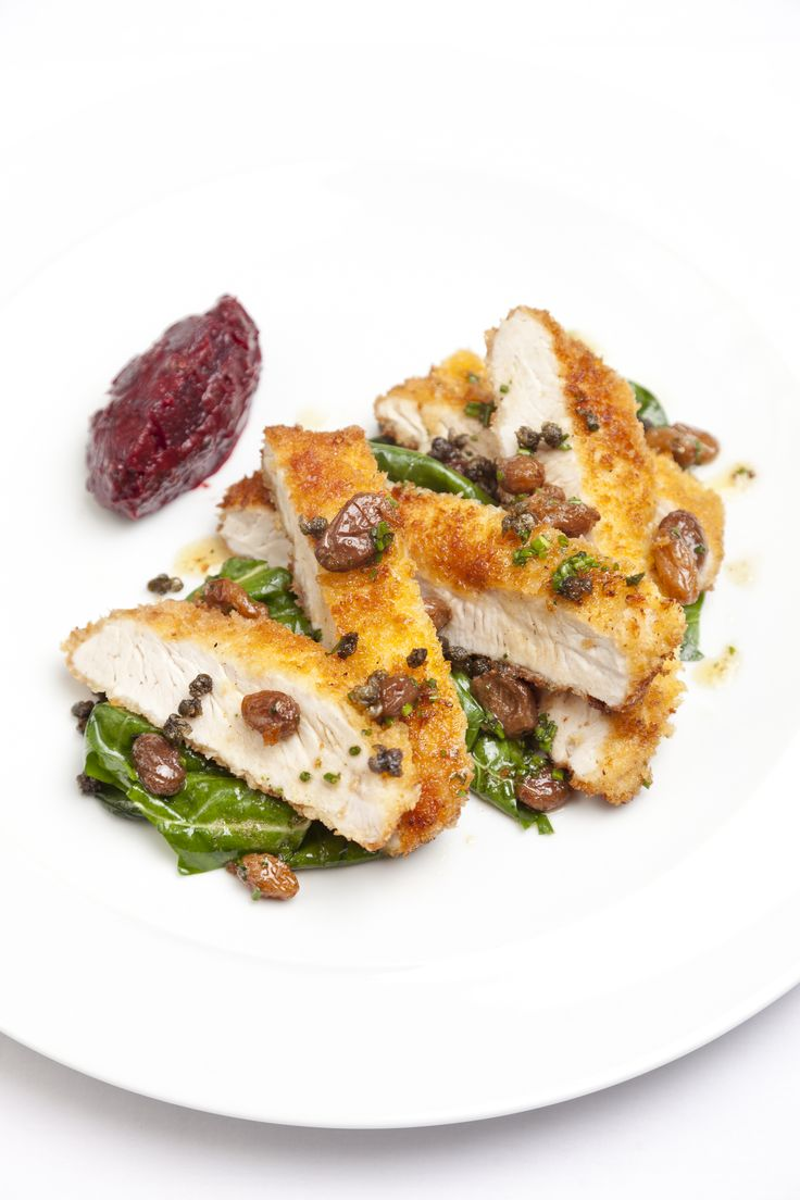 Turkey escalopes are perennially popular but not many people take the time to make their own. Dave Watts' inspiring turkey escalope recipe should change all that, the rustic beetroot, caper and sultana chutney accompaniment is reason enough to give this dish a try.