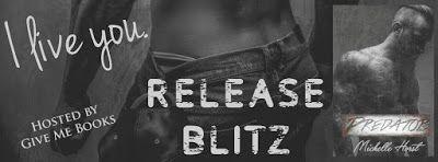 Release Blitz: Predator by Michelle Horst @givemebooksblog @michelleahorst #Excerpt #Giveaway #ClickItNow Genre: Romantic Suspense Release Date: April 29, 2016 http://twinsistersrockinreviews.blogspot.com/2016/04/release-blitz-predator-by-michelle.html