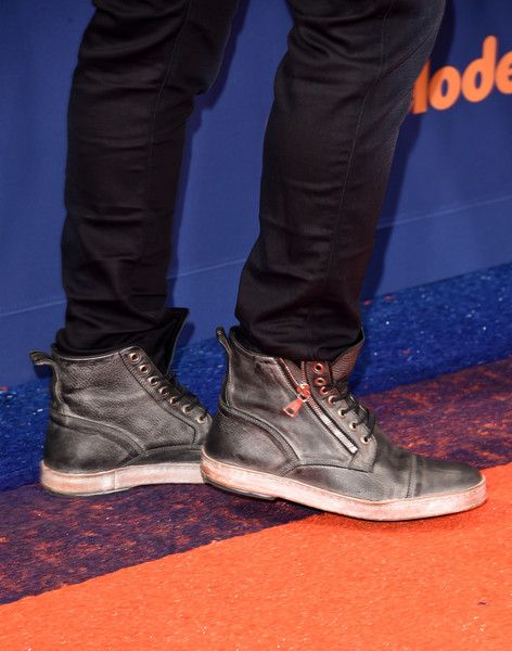 Ciara Photos Photos - Host Russell Wilson, shoe detail, attends the Nickelodeon Kids' Choice Sports Awards 2015 at UCLA's Pauley Pavilion on July 16, 2015 in Westwood, California. - Nickelodeon Kids' Choice Sports Awards 2015 - Arrivals