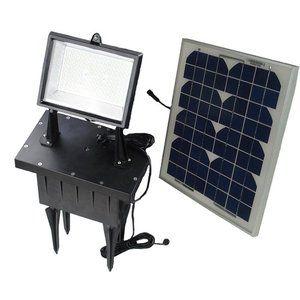 Solar Goes Green Super Bright 108 LED Solar Flood Light