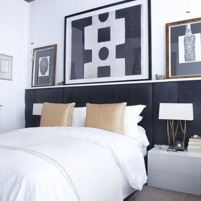 Built In Headboard Design Ideas, Pictures, Remodel, and Decor - page 2