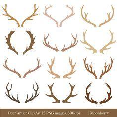 Resultado de imagen para antlers tattoo