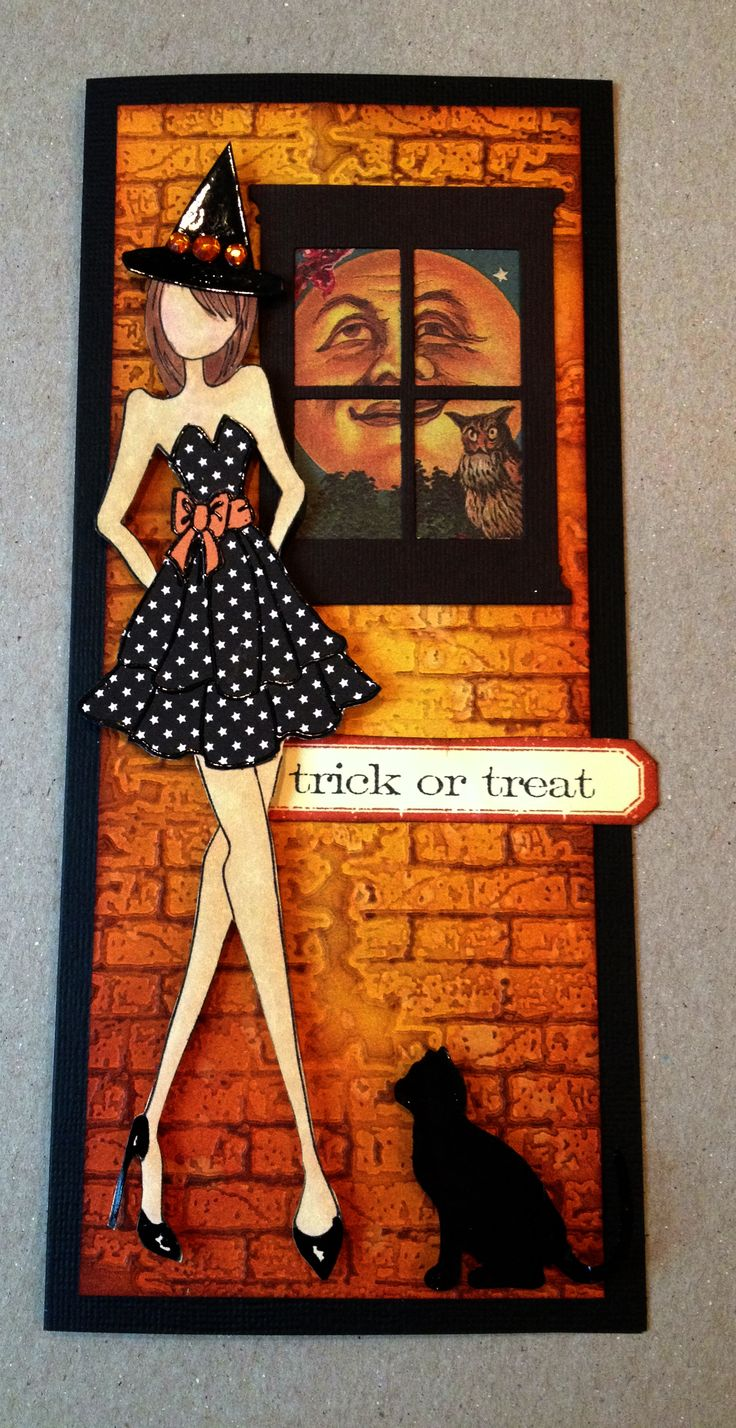 Julie Nutting Halloween Card WWW.the-inspiration-station.com Inspiration Station Stafford Springs, CT